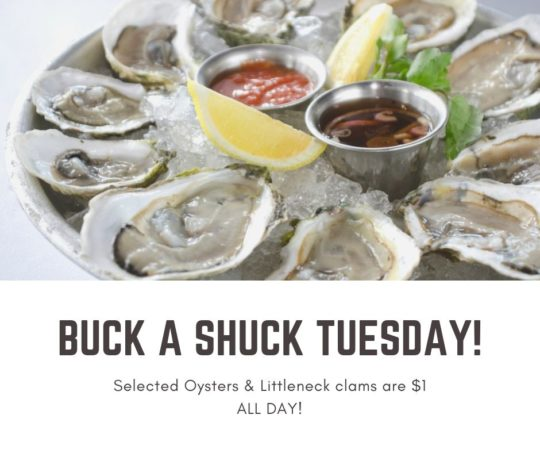 Buck A Shuck Tuesday