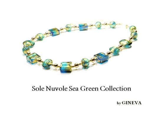Sole Nuvole Seagreen Neck