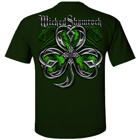 Wicked Shamrock Foil 10