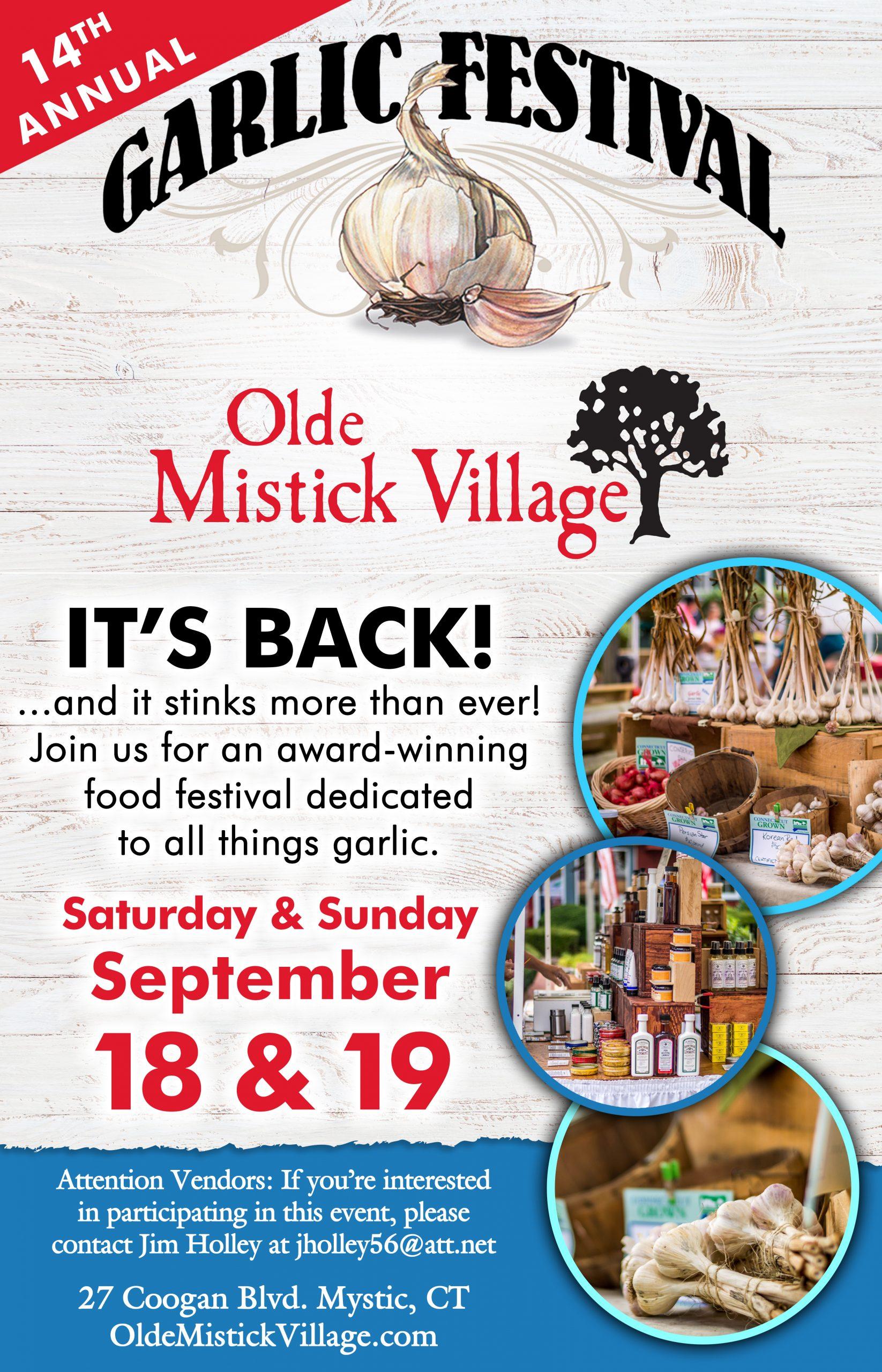 Omv Garlic Fest Poster 2